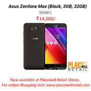 Buy Asus Zenfone Max (Black,  3GB,  32GB) Mobile in Siliguri