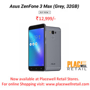 Buy Asus ZenFone 3 Max (Grey,  32GB) Smartphone in Siliguri