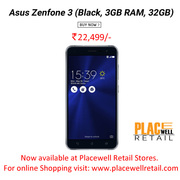 Buy Asus Zenfone 3 (Black,  3GB RAM,  32GB) Mobile Price in Siliguri