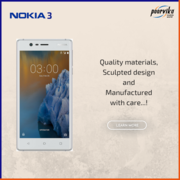 Nokia 3 Best Price in India 2017 on poorvika