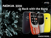 New Nokia 3310 : Price,  release date in India on poorvika
