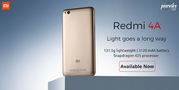 Xiaomi Redmi 4A available on April 27 at Poorvika mobiles