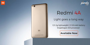 Buy Xiaomi redmi 4A on April 2017 available only on Poorvika mobiles