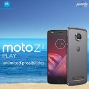 Poorvika presenting Moto z2 play mobile on june 2017