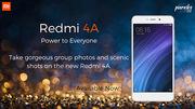 Buy Budget mobiles of xiaomi Redmi 4A on Poorvika mobiles