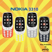 Re-entry of Nokia 3310 now available on poorvika mobiles
