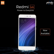 Budget mobile of Xiaomi redmi 4A available on poorvika mobiles
