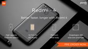 Xiaomi Redmi 4 Mobile now available at Poorvika mobiles