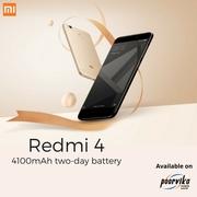 Buy Xiaomi Redmi 4 online at best price @poorvikamobiles
