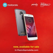 Buy The New Moto Z2 Play Available Online at Poorvikamobile