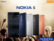 Hurry!! Nokia 5 Pre-Booking started only on Poorvikamobiles