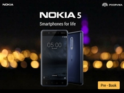 Hurry!! Most awaited Nokia 5 Prebooking at Poorvikamobiles