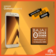 Samsung Galaxy A5 independence day offers at poorvika mobiles
