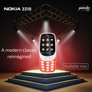 Brand New Nokia 3310 most awaited mobile available on Poorvika Mobile