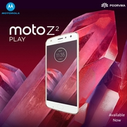 New Moto Z2 play smartphone available at Poorvikamobiles