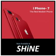 Apple Iphone 7 128GB Red available at Shine Poorvika.