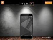 Xiaomi Redmi 4 new budget smartphone at poorvika mobiles