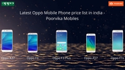Latest oppo mobile phone price list in india at poorvika mobiles