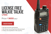 TalkPro launches India's first license free Walkie Talkie