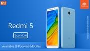 Redmi's New Launch MI 5 available @ Poorvika Mobiles