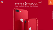 New Apple iPhone 8 (RED) now available @ Poorvika Mobiles
