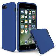 Silicone Case For Apple iphone 8 plus -Sea Blue